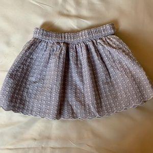 Gymboree Girl's Lavender Skirt